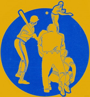1979 Retro Baseball Art by Row One Brand