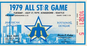 1979_Major League Baseball_All Star Game_Seattle_Kingdome_Row 1 by Row One Brand