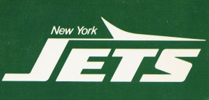 1981 new york jets reproduction artwork by Row One Brand