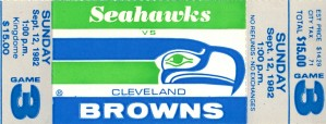 1982_National Football League_Cleveland Browns vs. Seattle Seahawks_Kingdome_Seattle_Row One Brand by Row One Brand