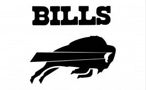 1983 Buffalo Bills Art Reproduction by Row One Brand