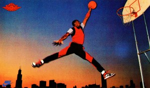 1985 Nike Air Jordan Poster Card by Row One Brand
