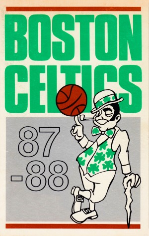 1987_National Basketball Association_Boston Celtics_Boston Garden by Row One Brand