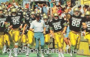 1988 colorado football by Row One Brand