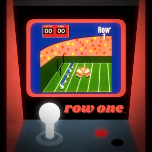 1988 Football Video Game Art by Row One Brand