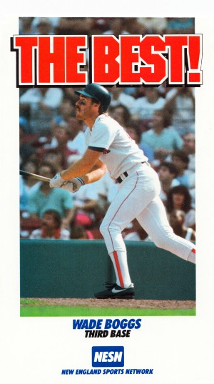 1988 wade boggs poster new england sports network by Row One Brand