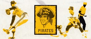 Vintage Pittsburgh Pirates Art by Row One Brand