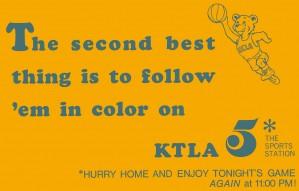 KTLA Los Angeles UCLA Bruins Ad by Row One Brand