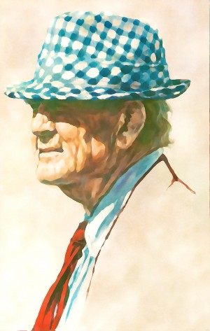 bear bryant sports paintings by Row One Brand