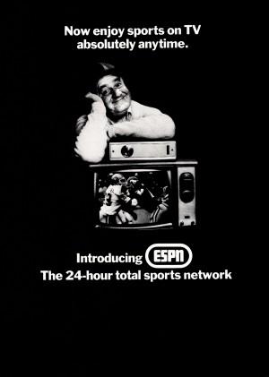 1981 ESPN Print Ad by Row One Brand