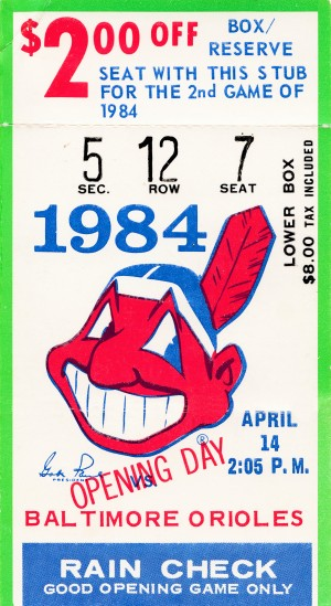 cleveland indians gift ideas fathers day ohio by Row One Brand
