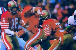 Joe Montana San Francisco 49ers Art by Row One Brand