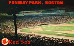 fenway park boston red sox by Row One Brand