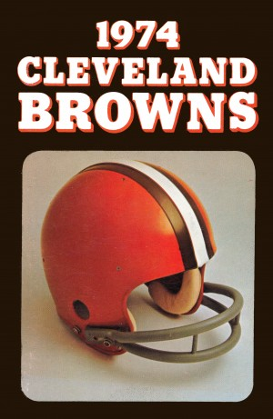 1974 Cleveland Browns by Row One Brand