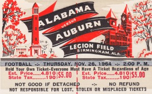 1964 Iron Bowl by Row One Brand