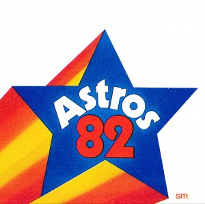 1982 Houston Astros by Row One Brand