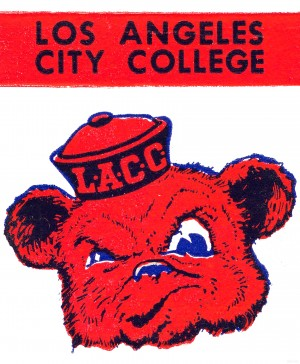 los angeles city college poster by Row One Brand