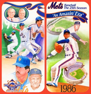 1986 New York Mets by Row One Brand