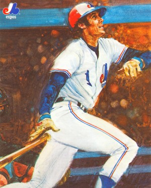 1979 Montreal Expos Poster by Row One Brand