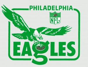 nfl philadelphia eagles by Row One Brand