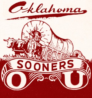 Vintage Oklahoma OU Sooners by Row One Brand