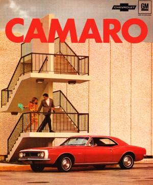 Retro Remix Camaro Poster by Row One Brand