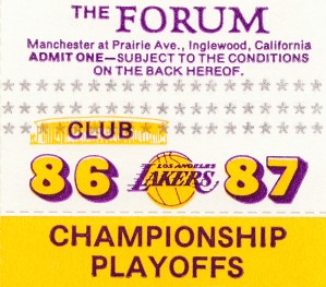 the forum inglewood california lakers gift ideas by Row One Brand