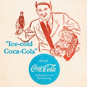 vintage coke ads 1941 by Row One Brand