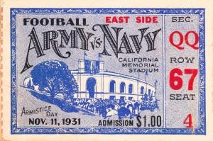 1931 Army vs. Navy by Row One Brand