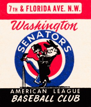 1959 Washington Senators by Row One Brand
