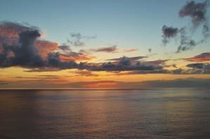 Paradise Sunset by Savannah Marla Lima