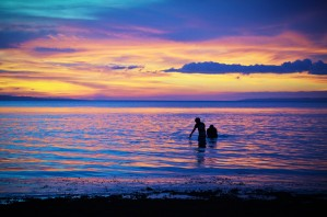 Purple Sunset by Savannah Marla Lima