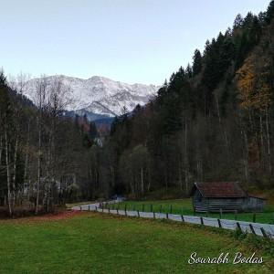 Alpine landscape 1 by Sourabh Bodas
