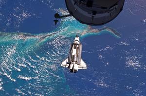 Space Shuttle Atlantis by Space Photos
