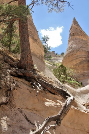Tent Rocks - Skyward by Stan Bann