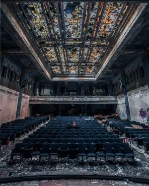 Blue Auditorium by Steve Ronin