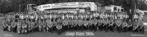 Camp Blaze Group Photo B/W by Steve