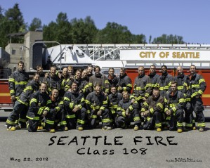 Seattle Fire Departments  Recruit Class 108 Glamour by Steve