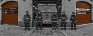 Seattle Fire Department, Station and Engine 2 by Steve
