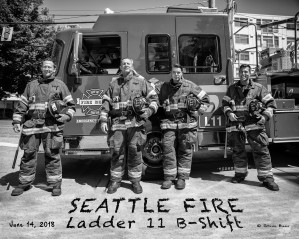 Ladder 11 B Glamour B&W by Steve