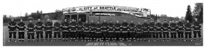 Seattle Fire Department Recruit Class 103 B&W  by Steve