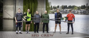 Seattle Fire Department Crew Team by Steve
