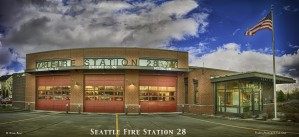 Seattle Fire Department Station 28  by Steve