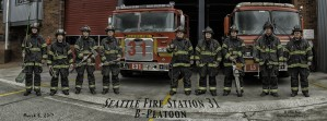 Seattle Fire Department Station 31, B Shift by Steve