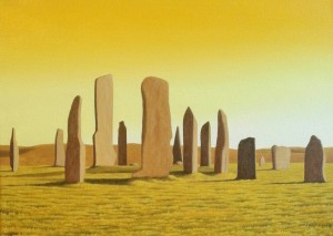 CALLANISH STONES by Steven Keys