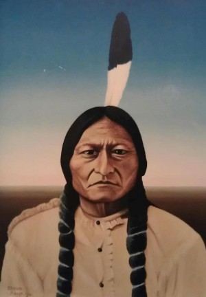 SITTING BULL by Steven Keys
