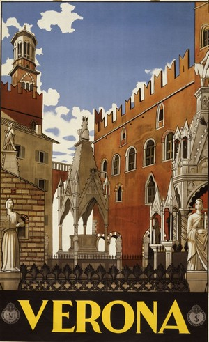Verona by VINTAGE POSTER