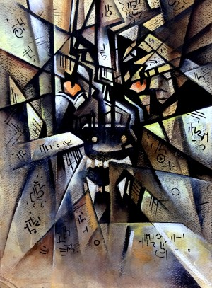 Cubism   -  The Peace Monger by Sumit Datta