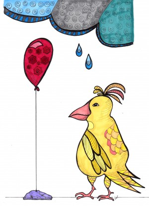 Balloon Bird by Susan Watson