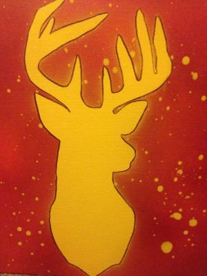 Stag by Taara Petts